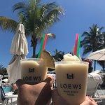 Poolside drink service, Loews beach & Loews pool