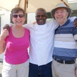 Our enthusiastic cook of local foods!!
