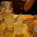 complimentary limoncello haha