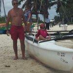 Une belle plage un accueil magnifique un personnel tres gentille que du bonheur vraiment une des