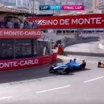 La terrazza della Rascasse durante il premio di Formula E