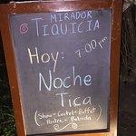 Foto de Mirador Restaurante Tiquicia