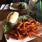 Home made veggie burger