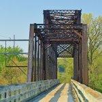 Chippewa River Trail, one of many bridges