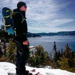 Sentier des yourtes au Fjord 30 min et magnifique
