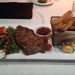 Steak was yum
