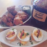 Deviled Eggs & Hush Puppies