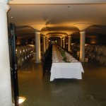 Cellar being prepped for a function