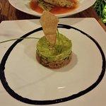 Empanaas and ceviche