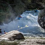 Green River Narrows kayakers