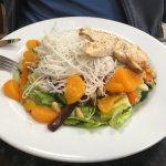 Chicken Thai salad.