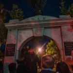 Nicodemus - Beginning of the tour Cemetery gate