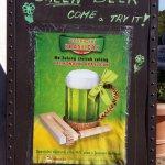 Special green beer