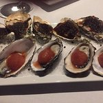 Kilpatrick & Bloody Mary Sorbet Oysters
