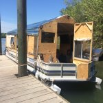 Now this was a house boat