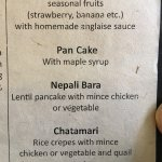 special Nepalese breakfast options