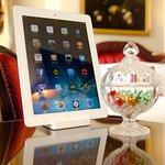 iPad with free superfast Wifi in all rooms