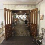 Main dining hall entrance