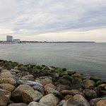 Strand mit Hotelanlagen