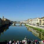 View from corridor over Ponte Vecchio