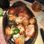 Chicken Biryani, Chicken pakoda, Tawa Chicken, Chicken platter .. after 7 days eating Indian foo