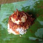 The delicious Ali Nasi Lemak