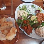 Cold Mixed Meze Platter for two