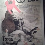 A French poster on display