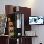 Complimentary tea and coffee in reception