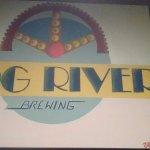 Hog River Sign