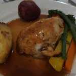 Main meal of chicken - wedding lunch