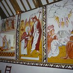Some of the wall paintings
