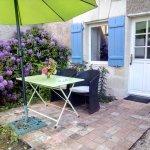 Terrasse Camomille aux couleurs printanières