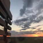 Bethsdam Marriott Suites - sunrise over Bethesda MD