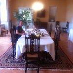 salle pour les petits dejeuners (tout fait maison)