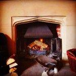Wintertime fire