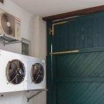 Kühlaggregate des Küchenbereichs