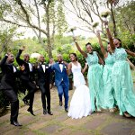 Wedding of Remember and Patience at Umbhaba Lodge