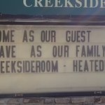 Very welcoming to all visitors.