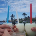 Cuban colours (don't forget to ask for Ronaldo's twist on a piña colada)