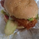 The works fish sandwich!