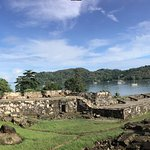 Vista panoramica Fuerte Santiago - Portobelo - Panama