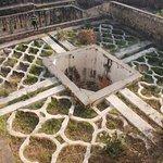 garden inside fort