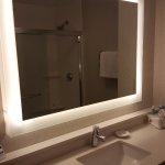 Great lighting in restroom