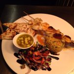 Our King Prawn & Scallop Kebabs