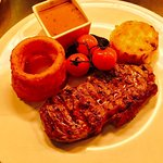 One of our many steaks that we offer