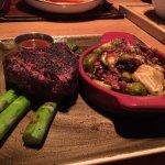Beef Tenderloin w/a side of Brussels Sprouts
