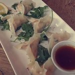 Hake and Prawn Gyoza