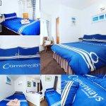 Bright & friendly bedrooms @Cornerways