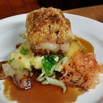 The fabulous pork - superbly presented and tastes great!